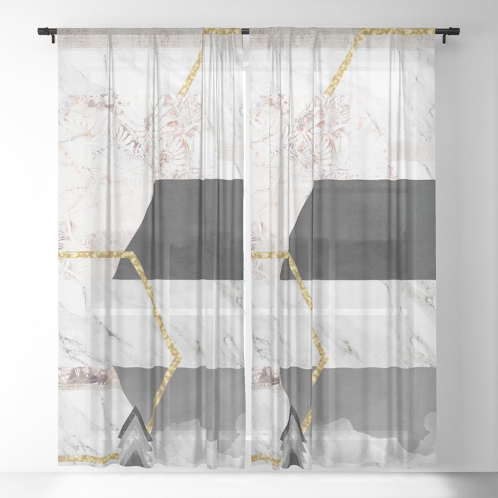 Boheme Luxury Sheer Curtain