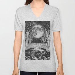 The Moonlight Bather Unisex V-Neck