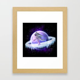 spaceskater Framed Art Print