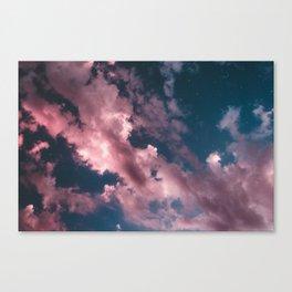 otro cielo rosado. Canvas Print
