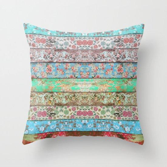 Rococo Style Throw Pillow