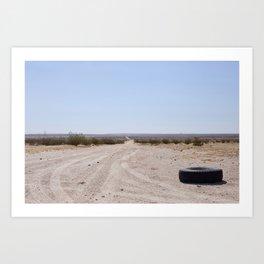 Less Traveled Art Print
