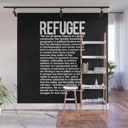 Refugee Wall Mural
