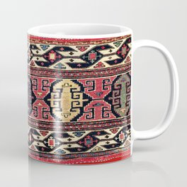 Shahsavan Mafrash Antique Azerbaijan Persian Tribal Bag Coffee Mug