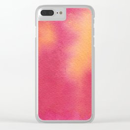 Scorching Hot Clear iPhone Case