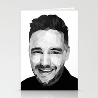 liam payne Stationery Cards featuring Liam Payne - One Direction by jrrrdan