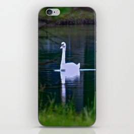 Swan Ghost iPhone Skin