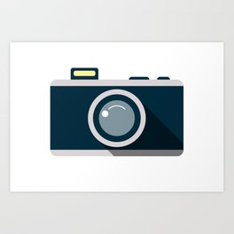 Camera Minimale Art Print