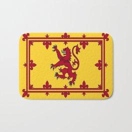 RED LION & YELLOW ROYAL BANNER OF SCOTLAND Bath Mat