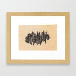 pen city Framed Art Print