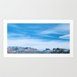 Open Sky; Wide Vista Art Print