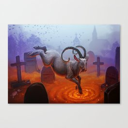 The Spring rapture Canvas Print