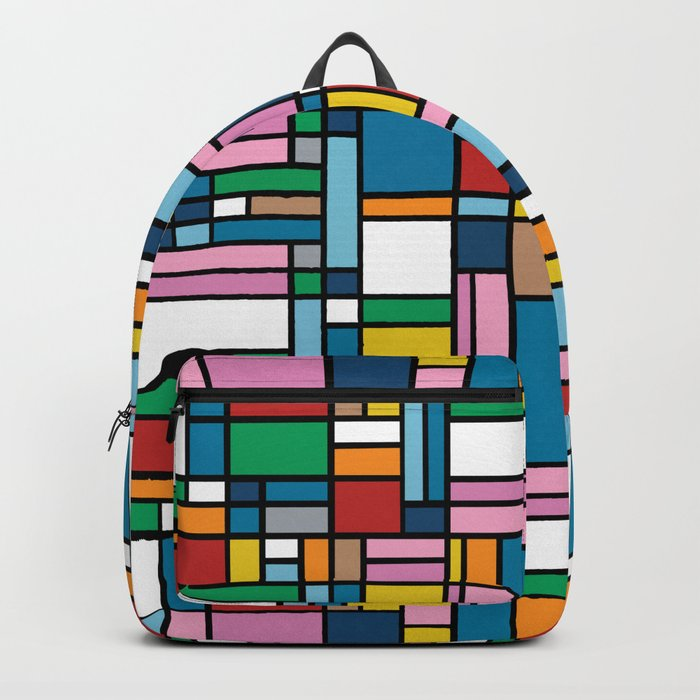 Map Outline Backpack