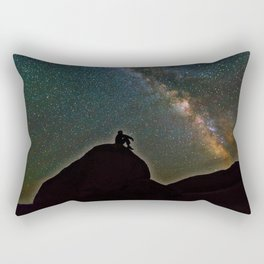 Milky Way Sky Rectangular Pillow