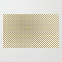 Hemp and White Polka Dots Rug