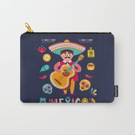 Man with Guitar – Mexico Carry-All Pouch
