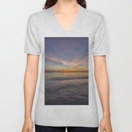 SUNRISE ON THE ADRIATIC SEA Unisex V-Neck