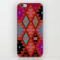 bohemian iPhone & iPod Skins featuring bohemian by spinL