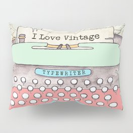 Typewriter #2 Pillow Sham