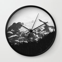 The Mountains I Wall Clock