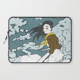 Girl in the Clouds Laptop Sleeve