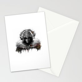 assassins creed ezio auditore Stationery Cards