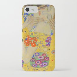Gustav Klimt The Kiss Detail iPhone Case