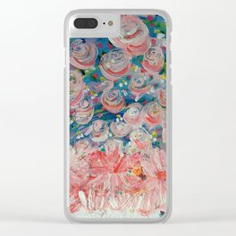 First Flowers Clear iPhone Case