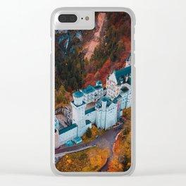 Neuschwanstein Castle in Schwangau, Germany Clear iPhone Case