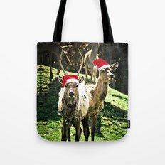 Tis The Season - Reindeer Tote Bag