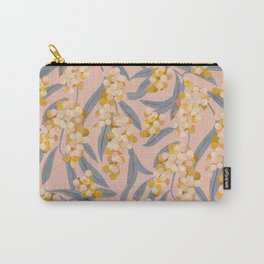 Acacia retinoides plant Carry-All Pouch