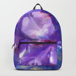 Blue Stargazer Floral Backpack