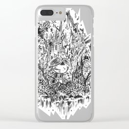 Sparklemancy Clear iPhone Case