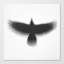 5.0.4 - Black Canvas Print