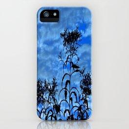 Blue Sky Silhouette iPhone Case