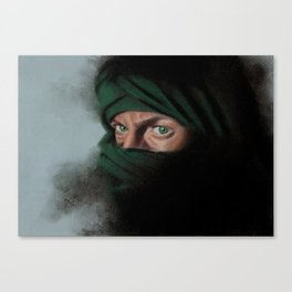 Smokey Eyes Canvas Print