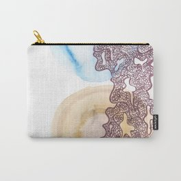 24 // Abstract 9 March 2017  | Abstract Shapes Art Colour Carry-All Pouch