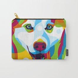 Siberian Husky Dog Carry-All Pouch
