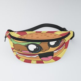 Cute Kawaii Hamburger Fanny Pack