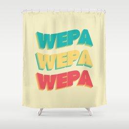 Wepa Wepa Wepa Shower Curtain
