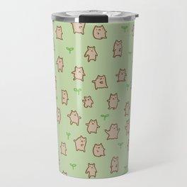 Tiny Bears Pattern Travel Mug
