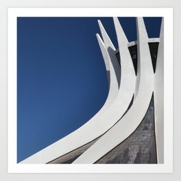 Catedral ON Art Print
