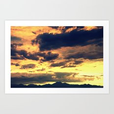 Summer Sunset II Art Print