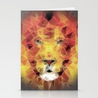 lion king Stationery Cards featuring lion king by Ancello