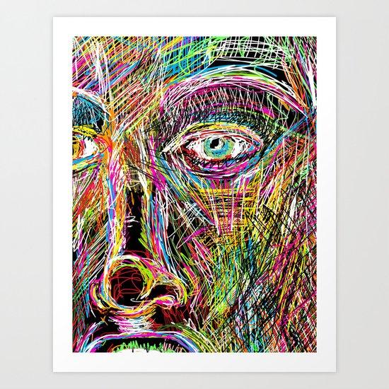 The Most Gigantic Lying Eyes Art Print