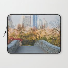 Central Park as the City Wakes Up Laptop Sleeve