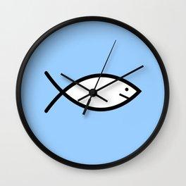 Ichthys 2 Wall Clock