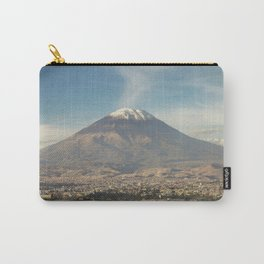 City of Arequipa in Peru with its iconic volcano Misti Carry-All Pouch
