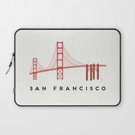 Golden Gate Bridge 2, San Francisco, California Laptop Sleeve