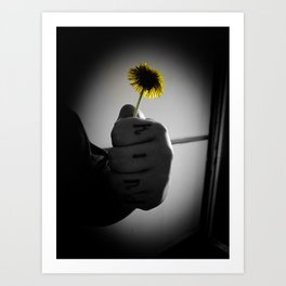 Kind Flower Art Print